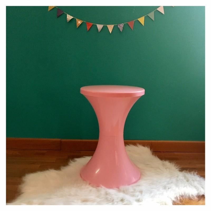 tabouret tamtam rose. Black Bedroom Furniture Sets. Home Design Ideas