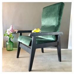 fauteuil velours
