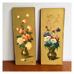 Tableaux à fleurs
