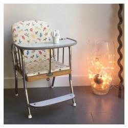 Chaise mi-haute bébé