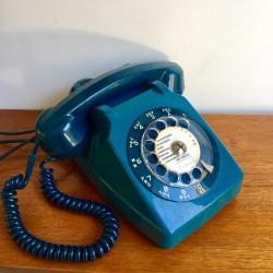 Téléphone Socotel Bleu canard