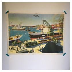 Affiche port