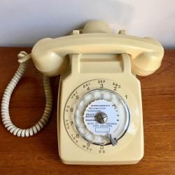 Téléphone Socotel beige
