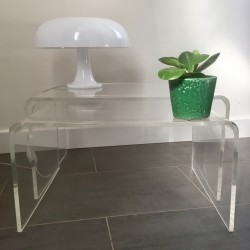 Tables gigognes Plexiglass
