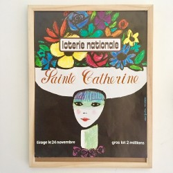 Affiche SAINTE CATHERINE